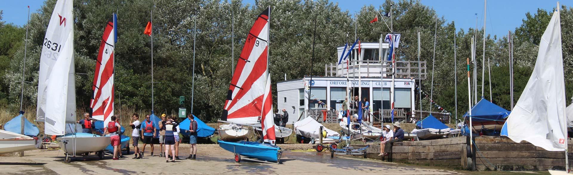 Orford Sailing Club Training