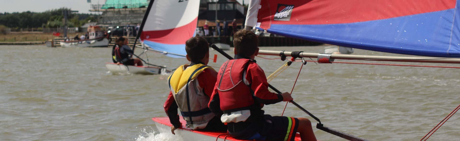 Youth Training - Orford Sailing Club